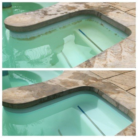 Iron Staining in swimming pool