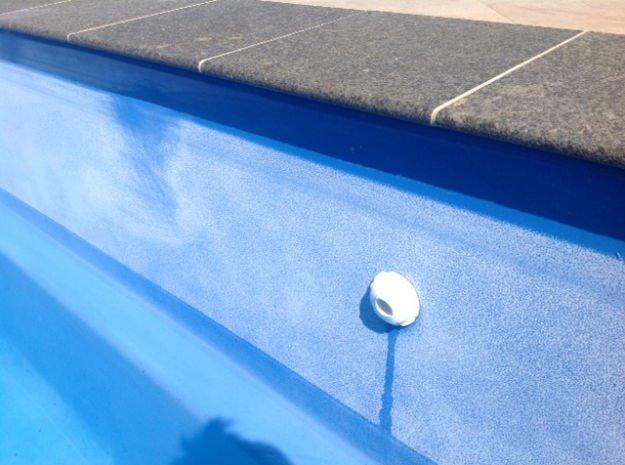 calcium on fibreglass pool
