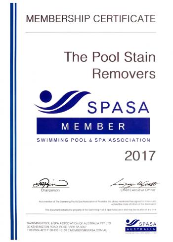 spasa certificate