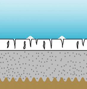 calcium nodules in swimming pool